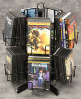 DVD Spinner Displays